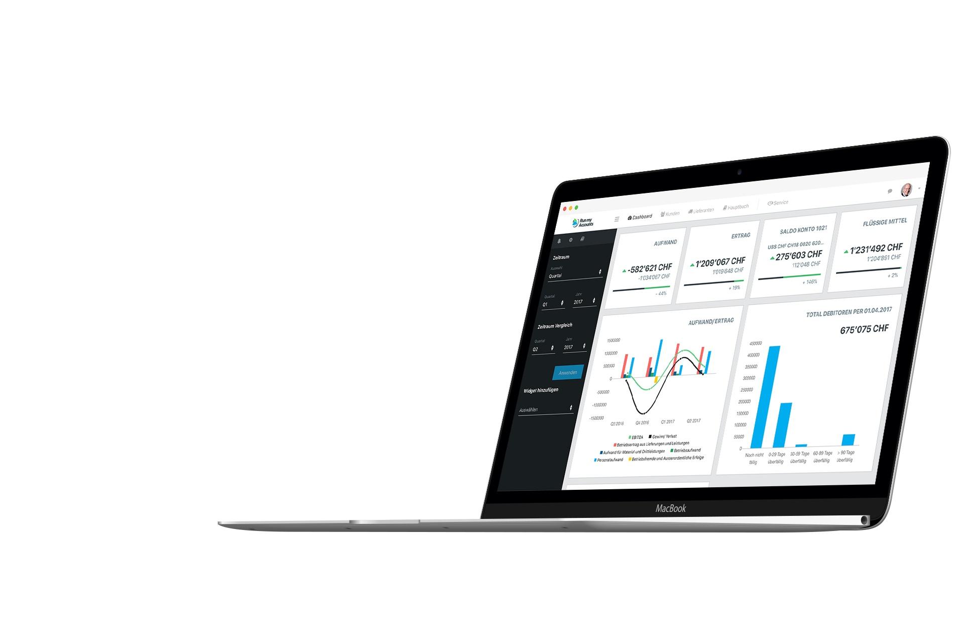 Demo Online Buchhaltungssoftware